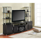 Entertainment Center TV stand 2 side towers 50 70 media console cabinet NEW