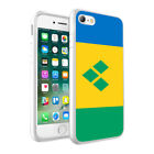 Saint Vincent and the Grenadines Flag Printed Phone Case Cover For Models - 0049