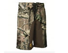 Youth Browning Board Shorts Mossy Oak Infinity Buckmark Camo Size M and L