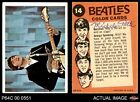 1964 Topps Beatles Color #14 John playing guitar VG