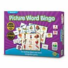 ❤ Toy The Learning Journey Match It Bingo Picture Word Educational Double Sided