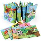 Infant Baby Early Learning Educational Picture Animal Read Books Soft Toys Cloth