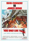 YOU ONLY LIVE TWICE JAMES BOND 007 SEAN CONNERY VINTAGE CLASSIC MOVIE POSTER 2 £16.99 GBP on eBay