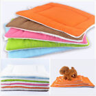 USSTOCK Pet Dog Cat Bed Soft Puppy Cushion House Warm Kennel Dog Mat Pad Blanket