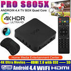 S805 4K Android 4.4 Smart TV BOX Quad Core 8GB HD 1080P WIFI Media 3D w/keyboar