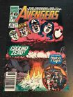 Avengers#323 Incredible Condition 9.0(1990) Alpha Flight App!!