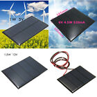 Durable 1.5W 12V Solar Panels DIY Power Model Small Battery