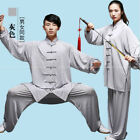 Chinese Cotton Martial Arts Wushu Silk Kung Fu Tai Chi Uniform Wing Chun Suit Y1