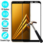 Full Cover Tempered Glass Screen Protector For Samsung Galaxy A8 / A8 Plus 2018
