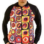 Wassily Kandinsky Color Study Square Circle Track Jacket Fine Art Print Abstract