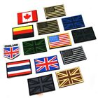 National Flag Emblem Iron On Patch 5*8 cm Embroidered Backpack Country Patches