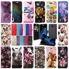 *PU LEATHER WALLET BOOK FLIP LUXURY PHONE CASE FOR SAMSUNG GALAXY S7 EDGE & MORE