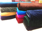 velvet velour  fabric premium quality 150cm wide, more than 10 stunning  colours