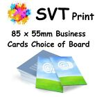 Printed Business Cards Full Colour Choice of Card Artwork Assistance Available