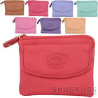 Ladies / Womens Small Practical Soft Leather Coin / Money Purse / Wallet