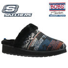 WOMENS SKECHERS BOBS RELAXED FIT MEMORY FOAM FULL FUR MULES SLIPPERS SHOES SIZE