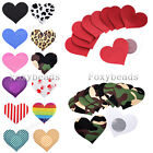 20X Love Heart One-off Breast Bra Nipple Cover Sticker Pasties Lingerie Sizes