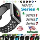Silicone Sports Bracelet Strap Belt For Apple Watch Band Nike+ Series 3/2/1