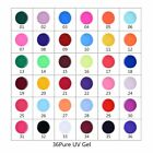 Mix Farbige UV Gel Nagel Set Stempel Wraps Deko Tipp Farbgel Pure Nail Art Stick