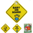 Внешний вид - 2X Car Baby Warning Safety Suction Sticker Baby on Board Baby in Auto Cartoon GT