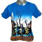 DALI Swans Reflecting Elephants SURREAL FINE ART PRINT MENS T SHIRT Surrealism *