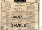 1954 BUICK EIGHT 54 SERIES 4300 CANADA ONLY 54 TUNE-UP SYSTEM CHART