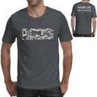 Eat Sleep BMX Bike Cycling Bicycle Camouflage Gift Top Tee Mens Graphic T-Shirt
