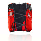 Salomon Unisex ADV Skin 12 Set Running Backpack Red Sports Breathable Reflective