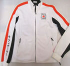 NEW Yamaha Ladies Original IWATA Off White Zip-Up Sweatshirt (No Hood) RRP £51