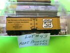 LOT # 43 N SCALE MTL  40' REF NUCKOLLS PACKERS CO. MEAT PAKERS SERIES #12