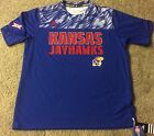 adidas climalite Kansas Jayhawks Shock Energy Player Issue Training shirt KU men image