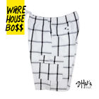 SHAKA MENS PLAID CARGO SHORTS 5 POCKET CASUAL LOOSE FIT SHORTS HIP HOP ACTIVE