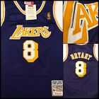 NWT Vintage Kobe Bryant 8 Los Angeles Lakers Purple Hardwood Classics Jersey
