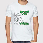 Green Day Kerplunk Logo Punk Rock Legend Men's White T-Shirt Size S to 3XL