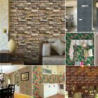 2types Brick Effect Stickers Home Decor Kitchen Bathroom Wall Wallpaper Decal