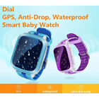 DS18 Smart Watch Kids GPS WiFi Locator Tracker SOS Call SMS Support SIM Card