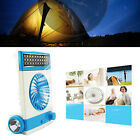 PORTABLE RECHARGEABLE SOLAR AC CHARGED EMERGENCY CAMPING TENT FAN LIGHT LANTERN