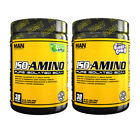 MAN Sports Iso-Amino Pure Isolated BCAA Build & Retain Lean Muscle (30 Servings)