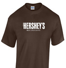 Hershey's Milk Chocolate T-shirt Brown White Funny Since 1894 Tee Shirt S-3XL image