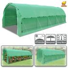 Large Greenhouse Heavy Duty Walk-In Plant Gardening Hot Green House w Snap Clamp