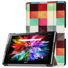 Patterned Pu Leather Case Hard Shell Cover For 10.1'' Acer Iconia A3-A50 Tablet