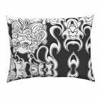 Foo Dog Peace Protector Symbol Asian Buddha Pillow Sham by Roostery