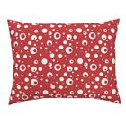 Betty Boop Red White Polka Dot Spots Dots Pillow Sham by Roostery $39.0 USD