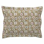 Rice Sushi Vegetable Salmon Tuna Seaweed Japenese Pillow Sham by Roostery