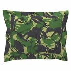 British Dpm Temperate Woodland Camo Pillow Sham by Roostery