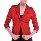 Tailor Fitted Single Button Blazer   Womens Size