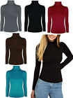 Polo Turtle Rouched Neck Plain Top   Womens Size