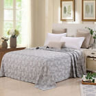 """pure cotton blanket comfortable throws towel sheet gauze thin quilt 94"""" X 87"""""""