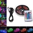 AVAWAY RGB LED Light Strip USB Powered 5V SMD 5050 Flexible Waterproof TV Bac...