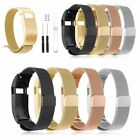 Fr FitBit Charge HR Wristband Metal Stainless Milanese Magnetic Loop Band Strap